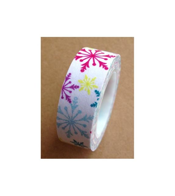 Masking Tape - Flocons colorés