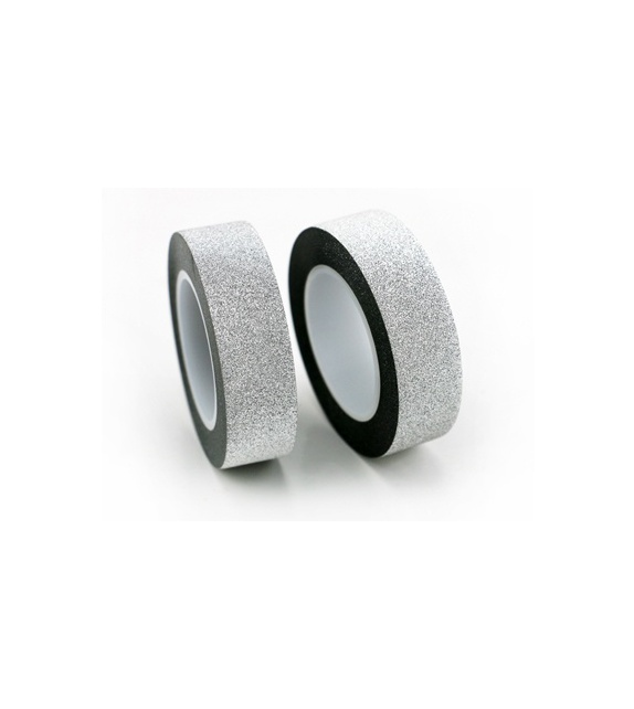 Masking Tape Paillettes - Argent 10 m