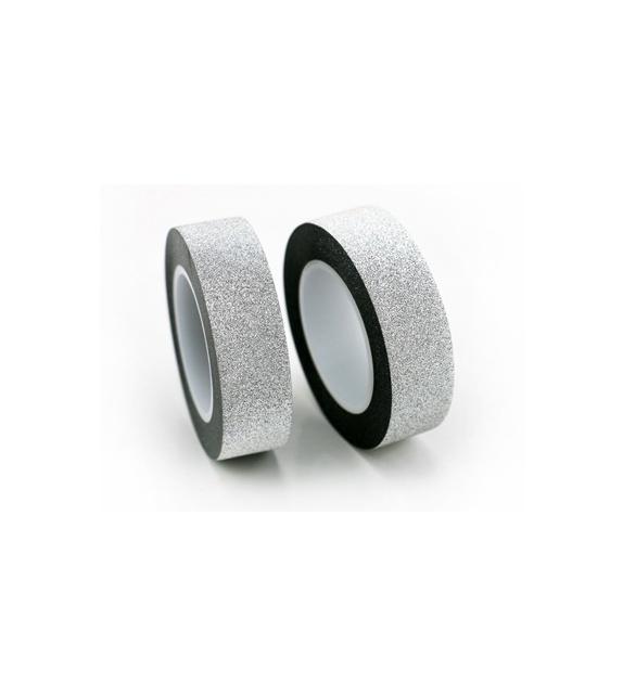 Solo Glitter - Silver 10 metres