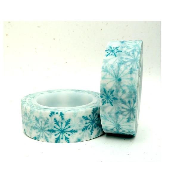 Solo Blue snowflakes