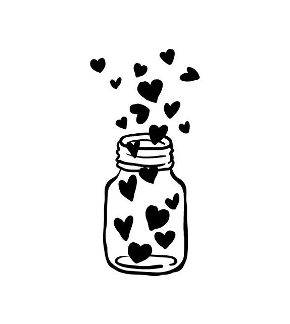 Tampon  - Bocal de Coeurs 2