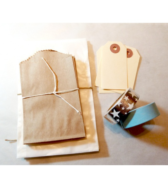 Kit Calendrier de l'Avent par Lovely Tape - Bleu et argent