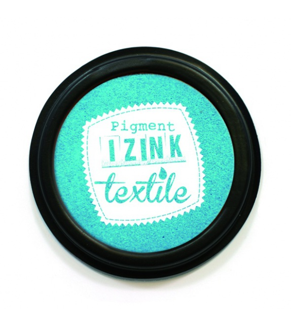 Encreur Textile Izink - Bleu Canard (Pastel)
