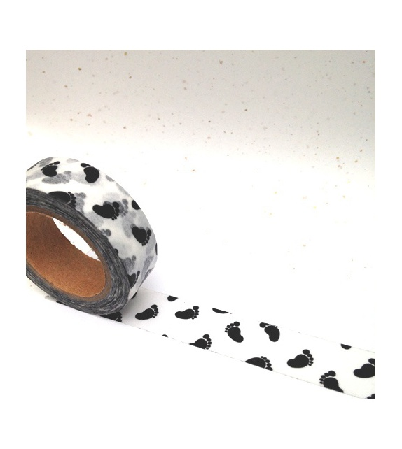 Masking Tape - petits pieds noirs