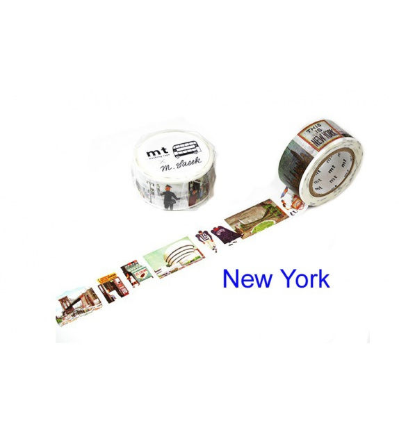 Masking Tape mt Large - New-York by Miroslav Sasek