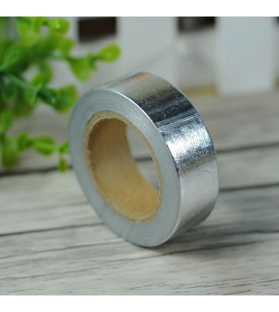 Masking Tape Foil Tape - Uni argent