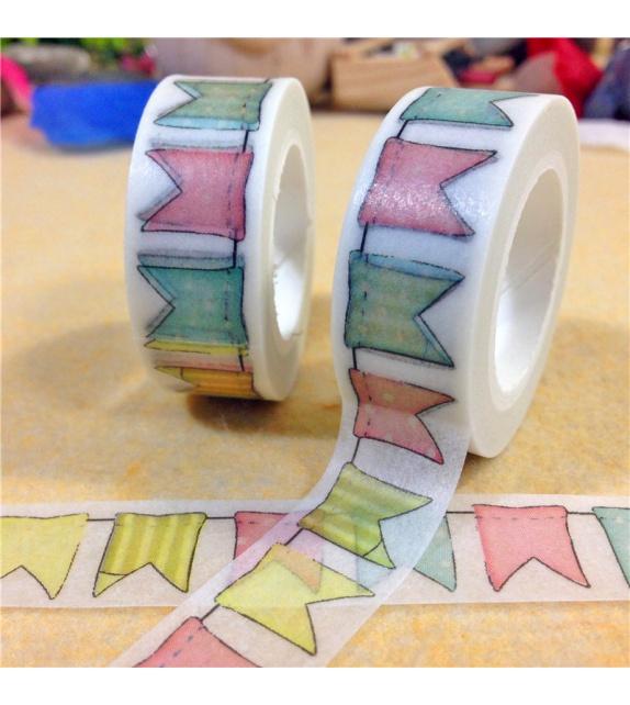 Masking Tape - Fanions colorés