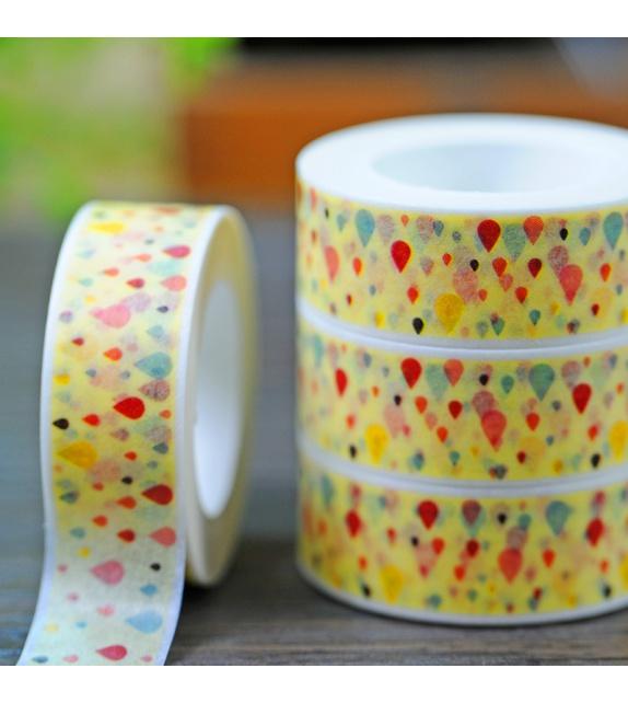 Masking Tape - Gouttes colorées