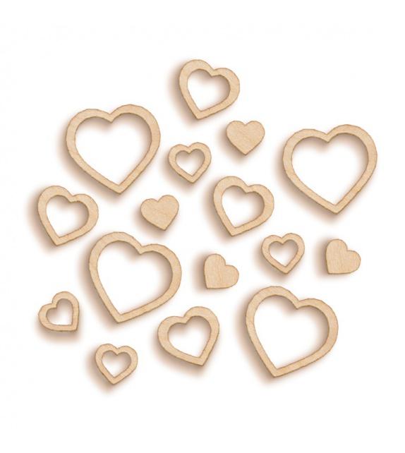 Woodies - Coeurs multiples (multi hearts)