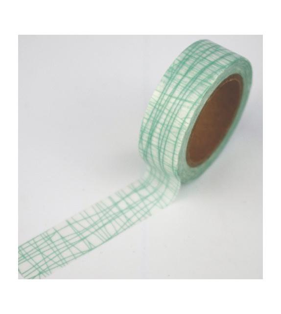 Masking Tape - Lignes dans tous sens mint