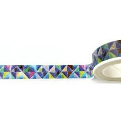 Masking Tape - Style émaux tons bleus