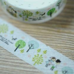 Masking Tape - Forêt et enfants