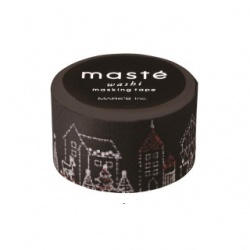 Masking tape masté - Illuminations de Noël