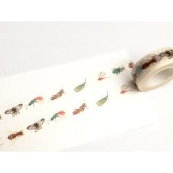 Masking Tape - Insectes Pastels