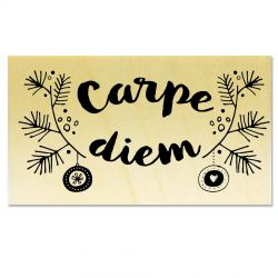 Tampon support bois - Carpe Diem Branches