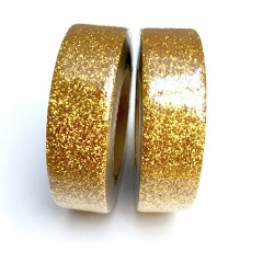 Glitter Tape - Very shiny Gold