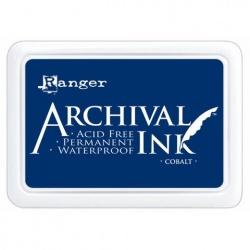 Encre Ranger Archival - Bleu Cobalt