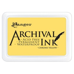 Encre Ranger Archival - Chrome Yellow