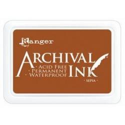 Encre Ranger Archival - Sepia