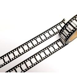 Masking Tape - Pellicule noire fond blanc