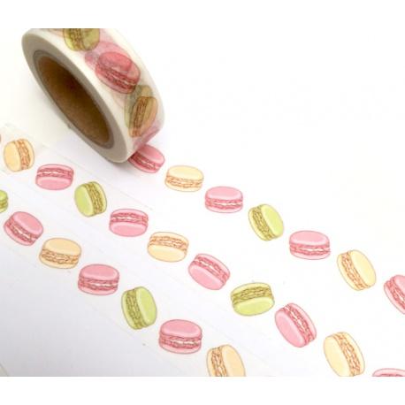 Masking Tape - Pastel Macaroons