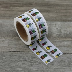 Solo Foil Tape - Cactus colourful and gold