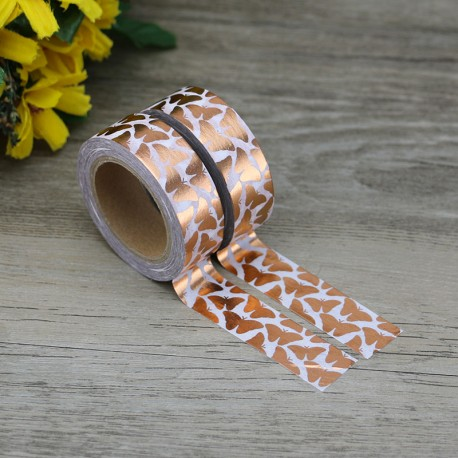 Masking Tape Foil Tape - Papillons Cuivre