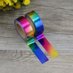 Masking Tape Foil Tape - Uni Dégradé Arc-en-Ciel