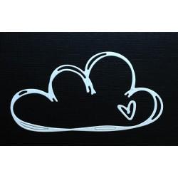 Die Gummiapan - Nuage et petit coeur