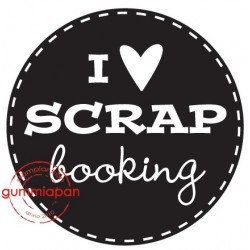 Tampon - I love SCRAPbooking