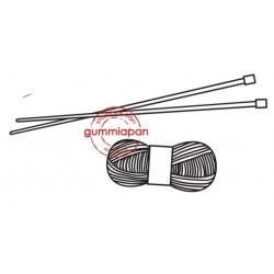 Tampon Gummiapan - Aiguilles & pelote