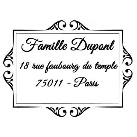 Stamp address 1