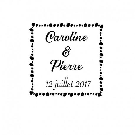 Stamp Wedding - 2017 B