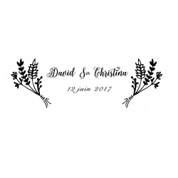 Stamp Wedding - 2017 C
