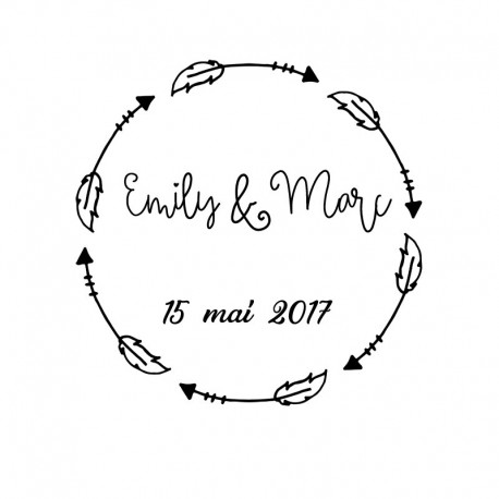 Stamp Wedding - 2017 D