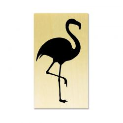 Rubber stamp - Flamingo