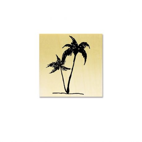 Rubber stamp - Palmtree
