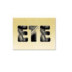 Rubber stamp - ETE