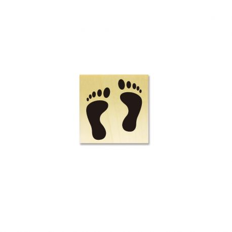 Tampon Empreintes de pieds