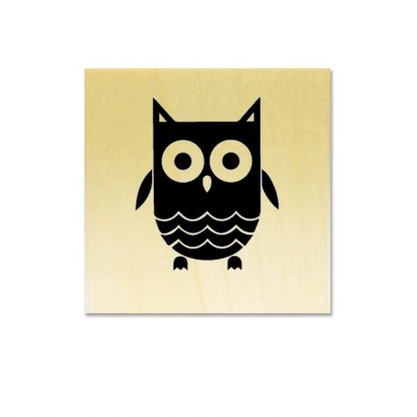 Rubber stamp - Little owl