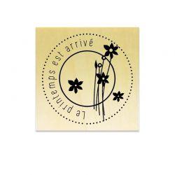 Le printemps est arrivé fleurs - Scrapanescence - Collection 6