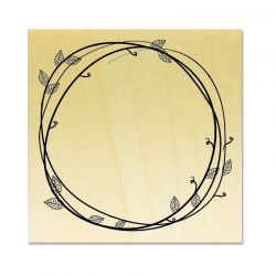 Rubber stamp - Wreath 1