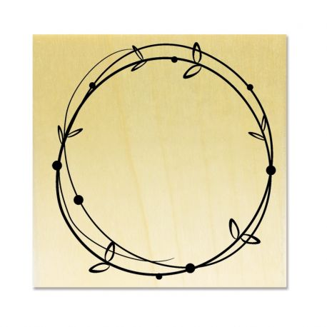Rubber stamp - Wreath 2