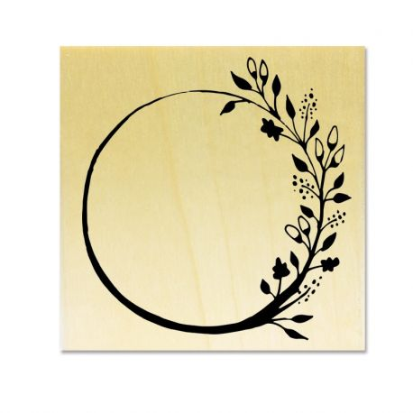 Rubber stamp - Wreath A