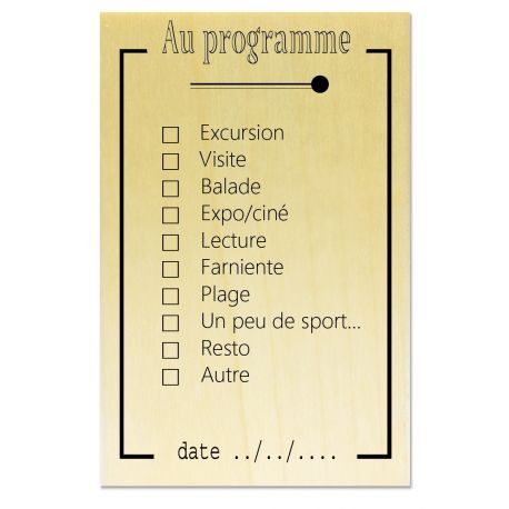 Rubber stamp - Scrapanescence - Au programme