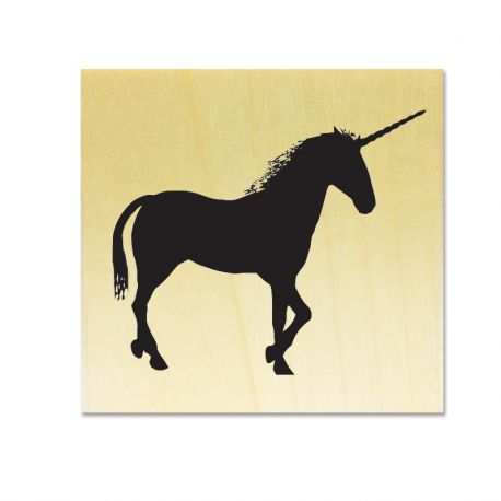 Rubber stamp - Unicorn