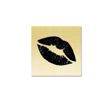 Tampon Lèvre bisou