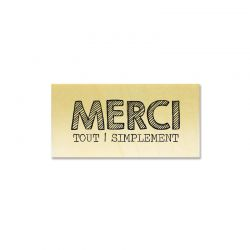 Rubber stamp - Gwen Scrap - Merci tout simplement