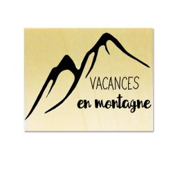 Rubber stamp - Gwen Scrap Collection 6 - Vacances en montagne