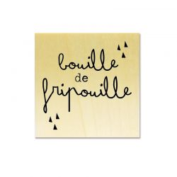 Rubber stamp - Gwen Scrap Collection 2- Bouille de fripouille